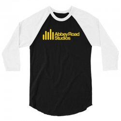 abbey road studios main logo 3/4 Sleeve Shirt   Artistshot
