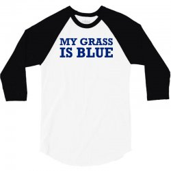 blue grass t shirt country music shirt cool tshirt harmonica banjo shi 3/4 Sleeve Shirt | Artistshot