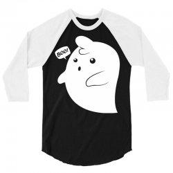 boo! 3/4 Sleeve Shirt | Artistshot