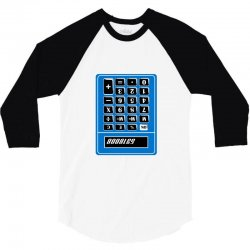 boobies calculator 3/4 Sleeve Shirt | Artistshot