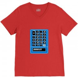 boobies calculator V-Neck Tee | Artistshot