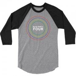 bloc party four indie punk rock kele pin me down 3/4 Sleeve Shirt | Artistshot