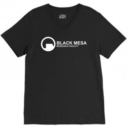 black mesa research facility V-Neck Tee | Artistshot