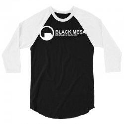 black mesa research facility 3/4 Sleeve Shirt | Artistshot