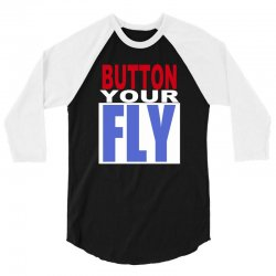 button your fly 3/4 Sleeve Shirt | Artistshot