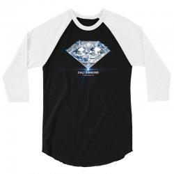 cali diamond the global diamond cartel 3/4 Sleeve Shirt   Artistshot