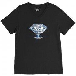 cali diamond the global diamond cartel V-Neck Tee   Artistshot