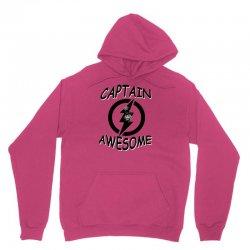 captain awesome tshirt funny humor tee comic vintage new lightning vtg Unisex Hoodie | Artistshot