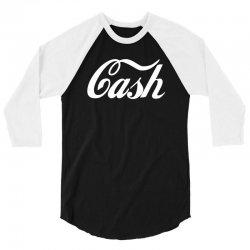 cash t shirt coca cola inspired t shirt shirt tee (2) 3/4 Sleeve Shirt | Artistshot