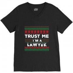 TRUST ME I'M A LAWYER V-Neck Tee | Artistshot