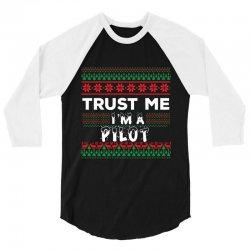 TRUST ME I'M A PILOT 3/4 Sleeve Shirt | Artistshot