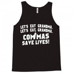 commas save lives! Tank Top | Artistshot