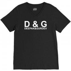 d&g logo V-Neck Tee | Artistshot