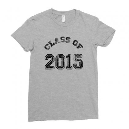 Class Of 2015 Ladies Fitted T-shirt Designed By Permatasarisekar