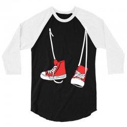 chuck shoes 3/4 Sleeve Shirt | Artistshot
