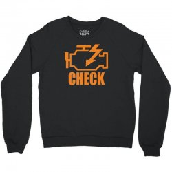check engine Crewneck Sweatshirt | Artistshot