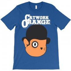 catwork orange T-Shirt | Artistshot