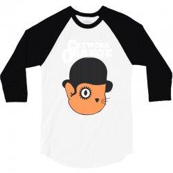 catwork orange 3/4 Sleeve Shirt | Artistshot