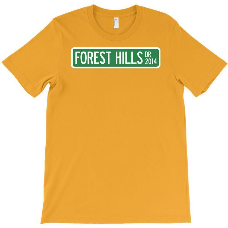 J Cole Forest Hills T-shirt   Artistshot