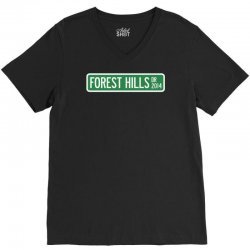 j cole forest hills V-Neck Tee   Artistshot
