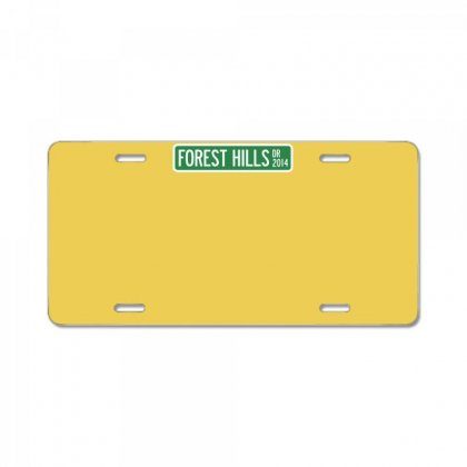 J Cole Forest Hills License Plate Designed By Esti Septiani Agustin