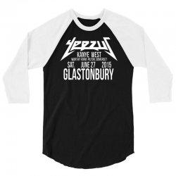 west glastonbury white 3/4 Sleeve Shirt | Artistshot
