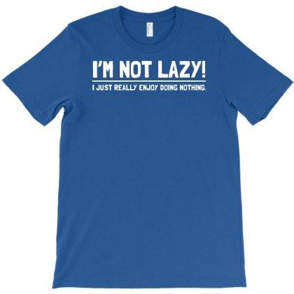 Lazy Funny T-shirt Designed By Esti Septiani Agustin