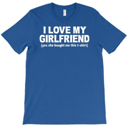 I Love My Girlfriend T-shirt Designed By Esti Septiani Agustin