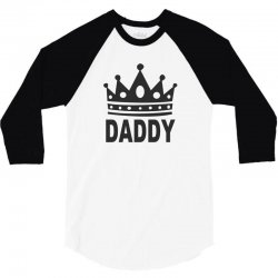 daddy dom king 3/4 Sleeve Shirt | Artistshot