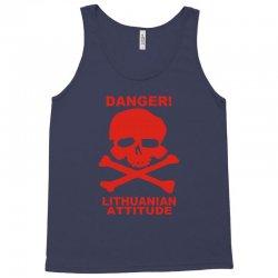 danger! lithuania attitude Tank Top | Artistshot