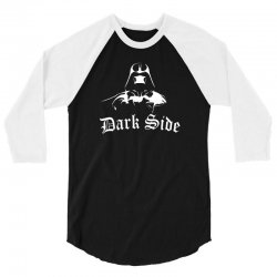 darkside darth vader star wars parody movie 3/4 Sleeve Shirt | Artistshot
