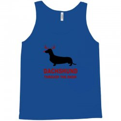dachshund through the snow Tank Top | Artistshot