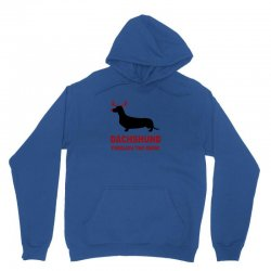 dachshund through the snow Unisex Hoodie | Artistshot