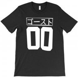 cyberpunk ghost jersey japanese anime kawaii club kid cyber goth jerse T-Shirt   Artistshot