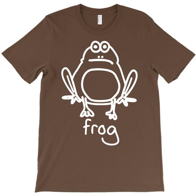 Funny Frog T-shirt   Artistshot