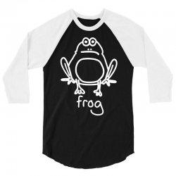 funny frog 3/4 Sleeve Shirt   Artistshot