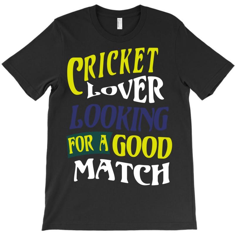 Cricket Lover T-shirt | Artistshot