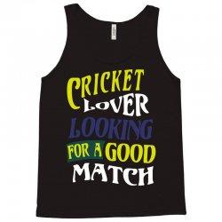 cricket lover Tank Top | Artistshot