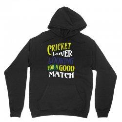 cricket lover Unisex Hoodie | Artistshot
