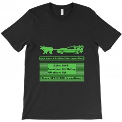 delorean trail T-Shirt | Artistshot
