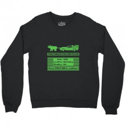 delorean trail Crewneck Sweatshirt | Artistshot