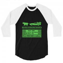 delorean trail 3/4 Sleeve Shirt | Artistshot