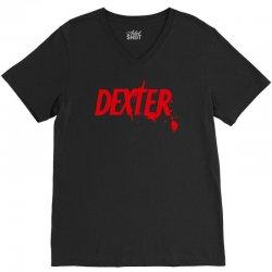 dexter serial killer tv V-Neck Tee   Artistshot