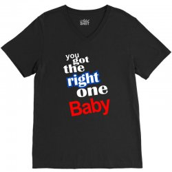 diet pepsi you got the right one baby V-Neck Tee   Artistshot