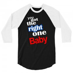 diet pepsi you got the right one baby 3/4 Sleeve Shirt   Artistshot