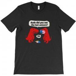 dino last unicorn girls T-Shirt   Artistshot