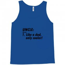 definition of uncle Tank Top | Artistshot