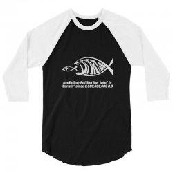 darwin evolution geek 3/4 Sleeve Shirt | Artistshot
