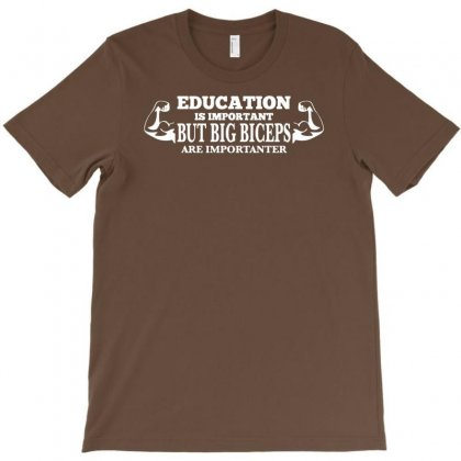 Biceps Funny T-shirt Designed By Esti Septiani Agustin
