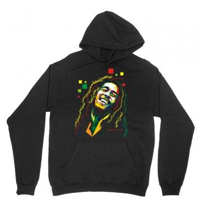 Bob Marley Rasta Way In Unisex Hoodie Designed By Mdk Art